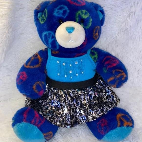 Blue Peace Sign BAB Plus Outfit